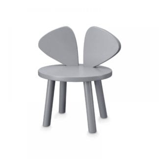 MOUSE CHAIR GREY barnstol, Nofred