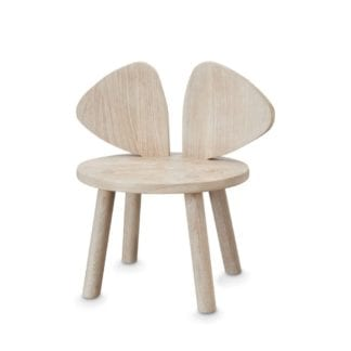 MOUSE CHAIR OAK barnstol, Nofred