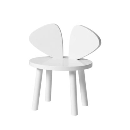 MOUSE CHAIR white barnstol, Nofred