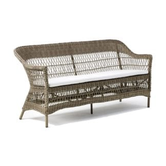 Rottingsoffa Charlot 3-sits Antique, Sika-design