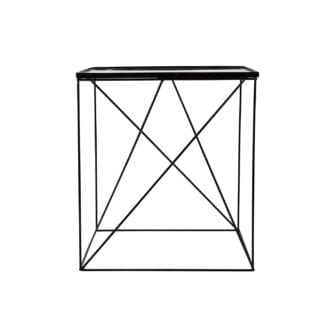 Sidobord SIDE TABLE ALEXIS svart, ByON