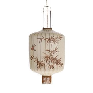Traditionell Lykta Taklampa XL Cream