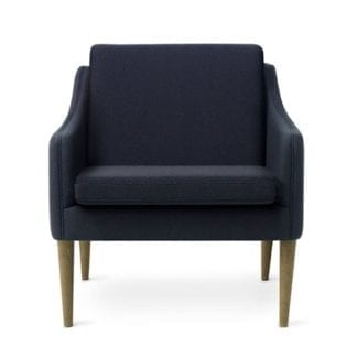 Mr. Olsen Lounge Chair Midnight Blue Smoked Ek