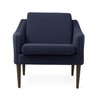 Mr. Olsen Lounge Chair Royal Blue Smoked Ek